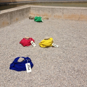 Colored Shirts in Mirò's Garden