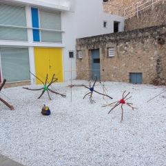 Distance installation Estrellas de Mirò - El árbol de Mirò