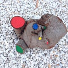 El árbol de Mirò 2- detail distance installation Estrellas de Mirò