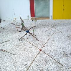 Distance installation Estrellas de Mirò