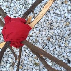 Detail distance installation Estrellas de Mirò